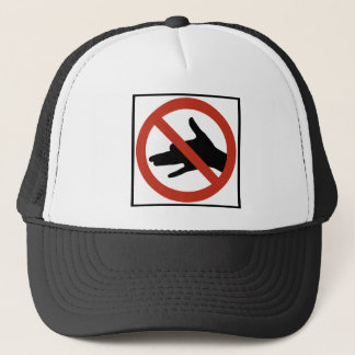 No Shadow Puppets Allowed Highway Sign Trucker Hat
