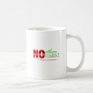 No shame, No disgrace - Isaiah 49:23b Coffee Mug
