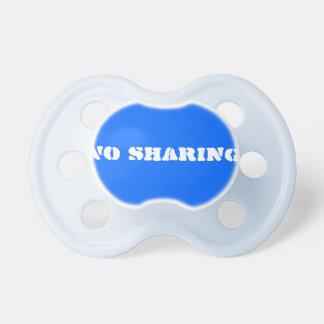 No Sharing pacifier