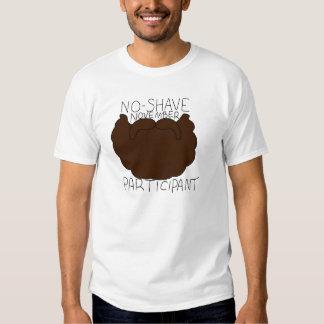 No-shave November participant T-Shirt