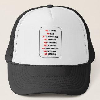 """NO"" Shirt Trucker Hat"