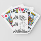 No Shoes, no shirts, no problems! Bicycle Playing Cards