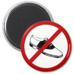 no-shoes refrigerator magnets