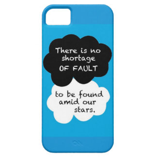 No Shortage of Fault iPhone Cover iPhone 5 Cover