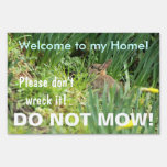 No siegue la muestra del hábitat natural del conej