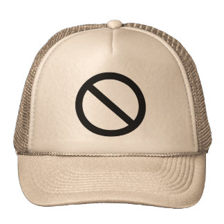 No sign (Cross-Out) Trucker Hat