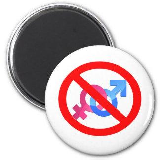 no sign/ pride magnet