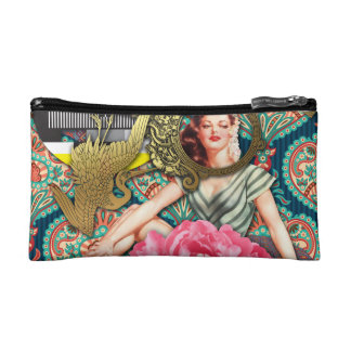 No-Signal - Cheeky Lady Cosmetic Bag