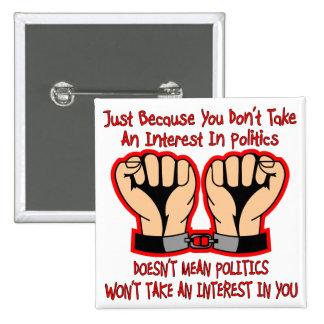 No significa que la política no tomará un interés  pin
