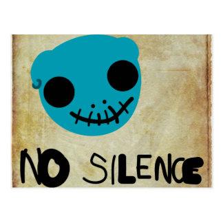 No Silence Postcards