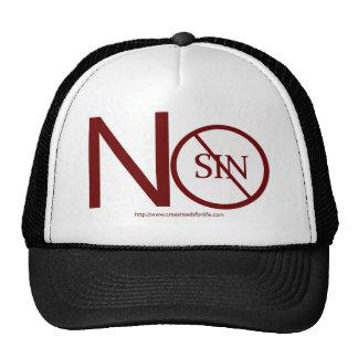 no-sin-RED2-tag Gorra