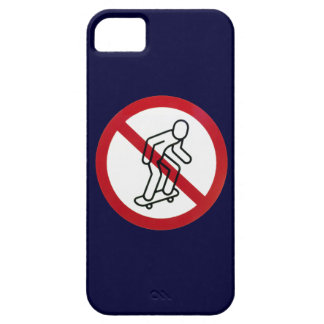 No Skateboarding iPhone5 Case
