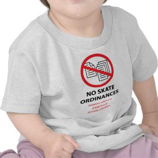 No Skateboarding Ordinances Shirt