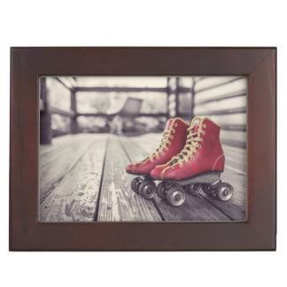 No Skating in the House Keepsake Box