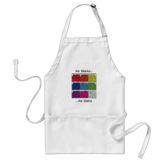 No Skeins No Gains-Fun Products for Craft Fanatics Adult Apron