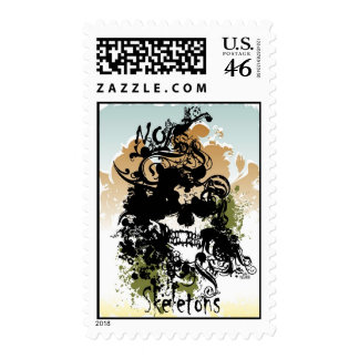 No Skeletons Postage Stamps