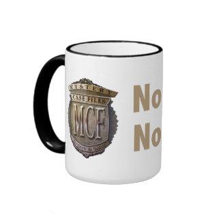 No Skips. No Hints. Gold Mug