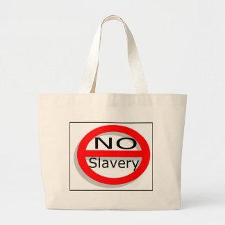 No Slavery Canvas Bag