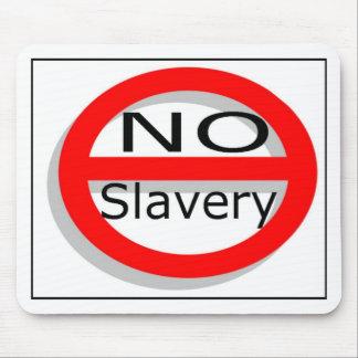 No Slavery Mouse Pad