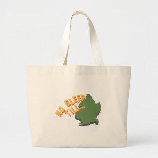 No Sleep Till Large Tote Bag