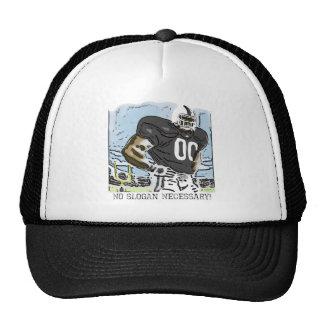 No Slogan Necessary Black Trucker Hat