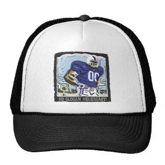 No Slogan Necessary Blue Trucker Hat
