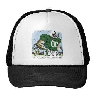 No Slogan Necessary Green Trucker Hat