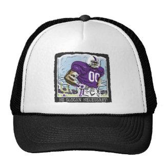 No Slogan Necessary Purple Trucker Hat