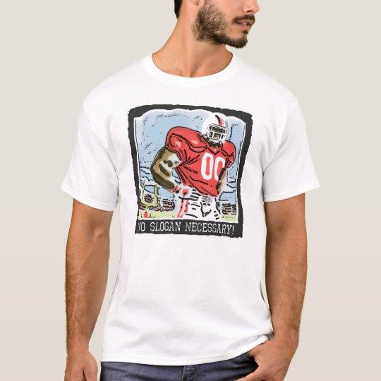 No Slogan Necessary Red T-Shirt
