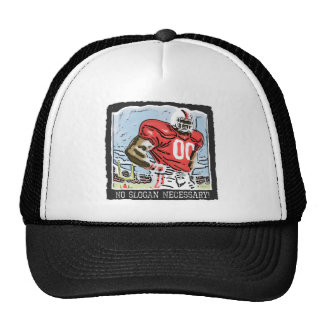 No Slogan Necessary Red Trucker Hat