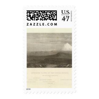 No Slopes of the Sierra Nevada Postage