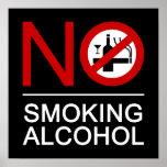 NO Smoking Alcohol ⚠ Thai Sign ⚠