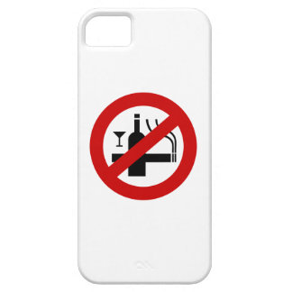 NO Smoking Alcohol ⚠ Thai Sign ⚠ iPhone SE/5/5s Case