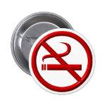 No Smoking / Anti-Smoking Buttons