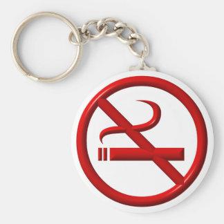 No Smoking / Anti-Smoking Keychain
