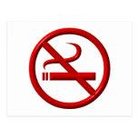 No Smoking / Anti-Smoking Postcard