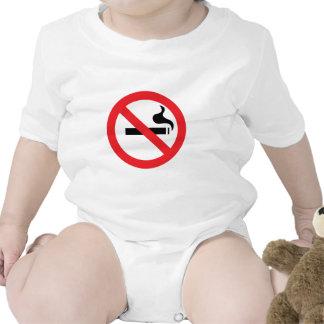 No Smoking Baby Creeper