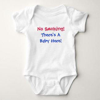 No Smoking Baby Tee Shirt