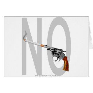 NO Smoking... Card