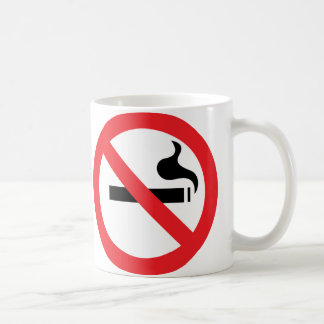 No Smoking Classic White Coffee Mug