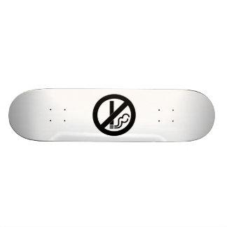 No Smoking Custom Skateboard