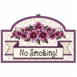 """""""No Smoking"""" - Decorative Sign - 12 Cutout"""