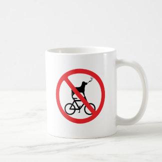No Smoking Dogs on Bikes Coffee Mug