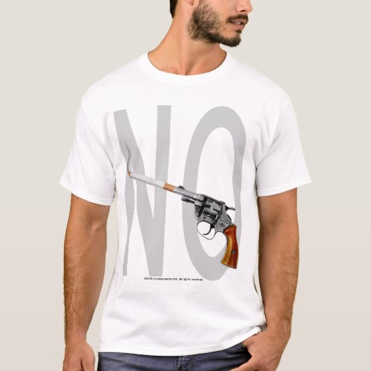 No Smoking Guns Allowed T-Shirt