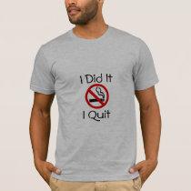 No Smoking I Quit Smoking T-Shirt