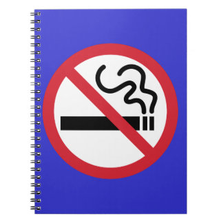 No Smoking Icon Notebook