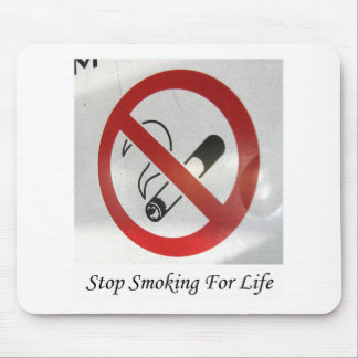 No Smoking In My Space Mouse Pad
