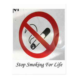 No Smoking In My Space Postcard