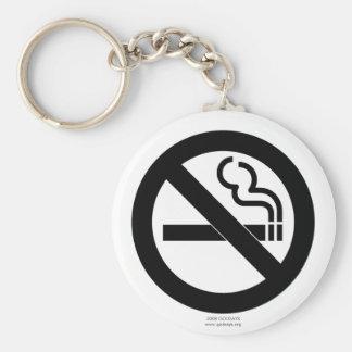 No Smoking Key Chain