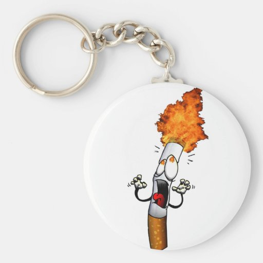 No Smoking Keychains
